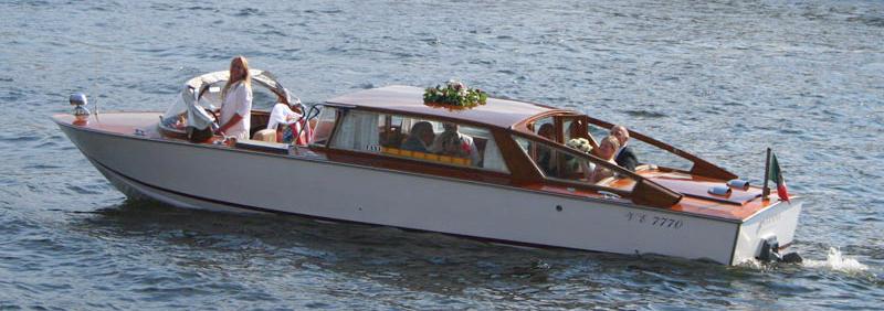 Cassanova båttaxi Stockholm