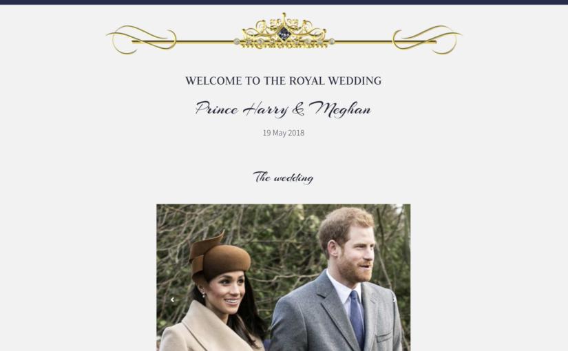Kungligt bröllop – nedräkningen har börjat!