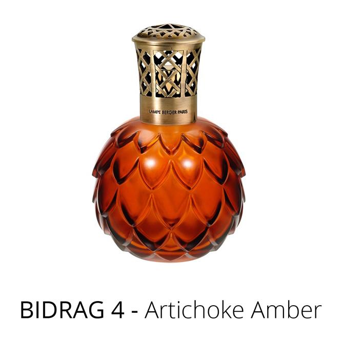 Lampe Berger luftrenare Artichoke Amber