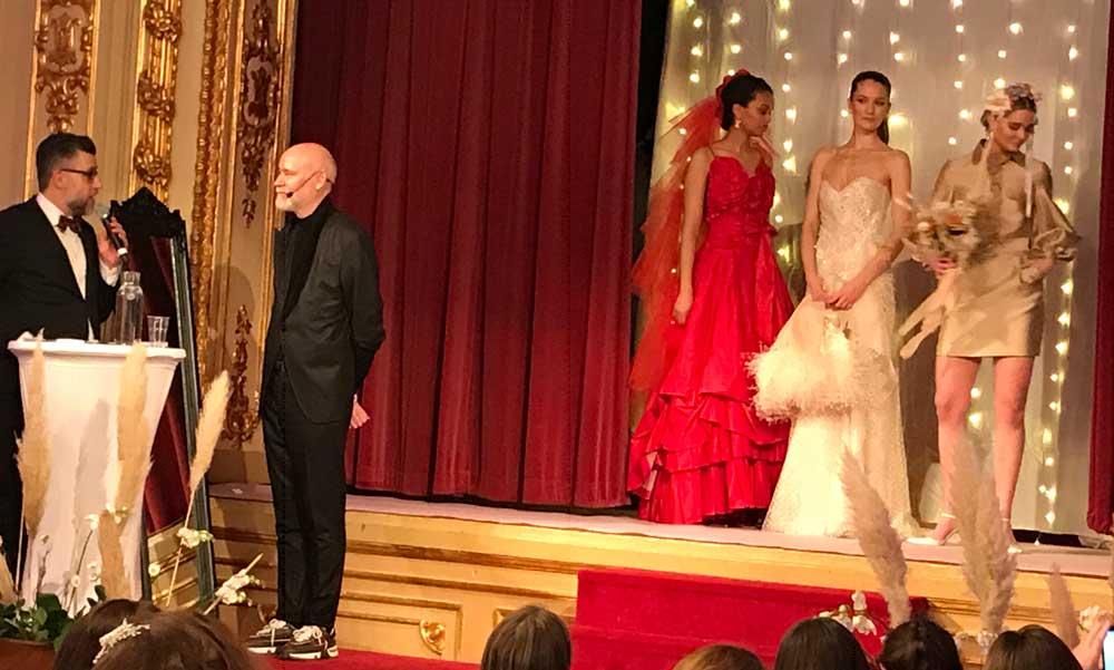 Lars Wallin catwalk Bröllopsmässan